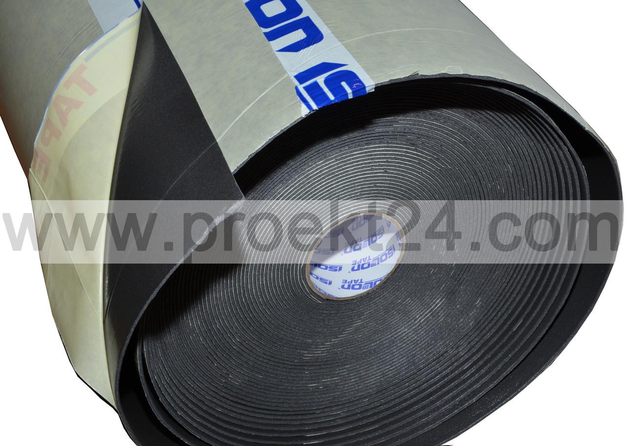 Изолон самоклеющийся 10 мм, физически сшитый ISOLONTAPE 500
