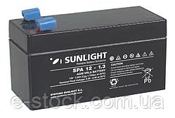 Аккумулятор SP 12-1.3 свинцово-кислотный