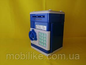 Копилка сейф - практичная игрушка с кодом в форме банка Hello Kitty