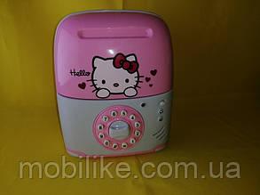 Копилка сейф - практичная игрушка с кодом Hello Kitty