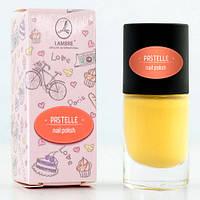 "Лак для ногтей ""Pastelle Nail Polish №2 (солнечный желтый)"" Ламбре / Lambre"