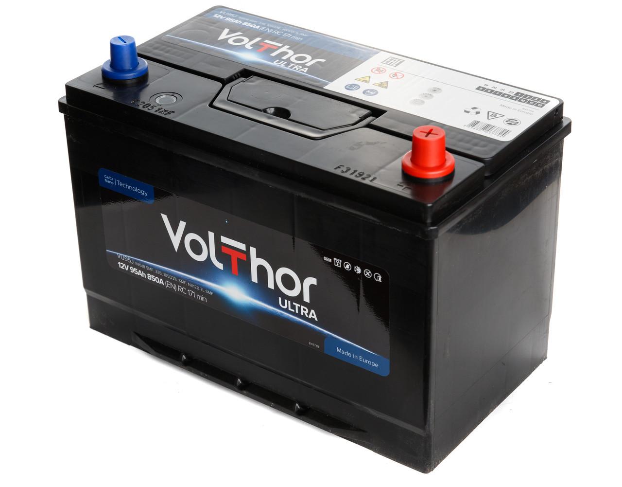 Аккумулятор Volthor 6СТ-95-АЗ (1) Asia