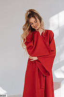 Платье кимоно женское 3 цвета красный, 42-44