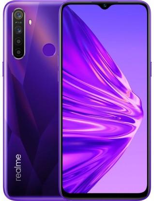 "Смартфон Oppo Realme 5 4/128Gb Violet, 12+8+2+2/13Мп, 2sim, 6.5"" IPS, 5000mAh, 4G (LTE), 8 ядер"