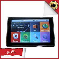 Навигатор GPS 8004 ddr2-128mb, 8gb HD\емкостный экран