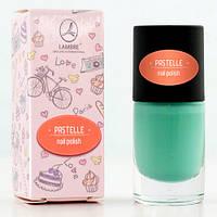 "Лак для ногтей ""Pastelle Nail Polish №3 (холодная мята)"" Ламбре / Lambre"