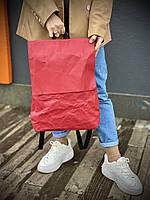 Рюкзак KL1x26 бумага крафт бордовый