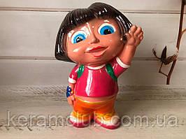 Керамічна скарбничка дівчинка Даша з Лунтика h 28 см