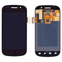 Дисплейный модуль (дисплей + сенсор) для Samsung Google Nexus S i9020, черный, оригинал