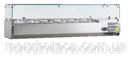 Витрина холодильная настольная Tefcold VK38-160