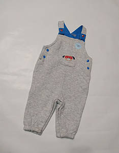 Трикотажные штаны-комбинезон F&F р.68см. (3-6мес)