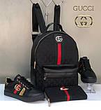 Набір: сумка, взуття, гаманець Бербері, фото 2