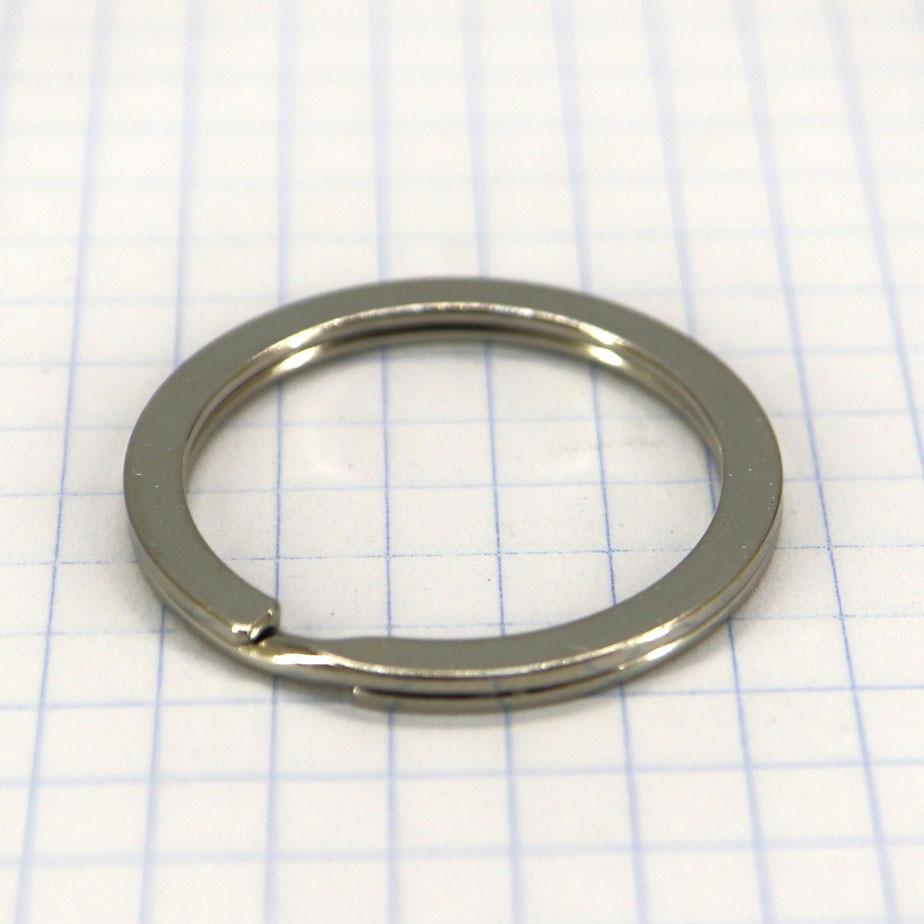 Кольцо ключное 25х2 мм плоское никель a5660 (50 шт.)