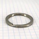 Кольцо ключное 25х2 мм плоское никель a5660 (50 шт.), фото 3
