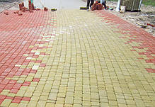 Тротуарная плитка «Старый город» 60/90/120/180х120 высота 40мм цветная, фото 2