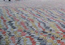 Тротуарная плитка «Старый город» 60/90/120/180х120 высота 40мм цветная, фото 3