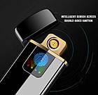 Спиральная сенсорная электрическая USB зажигалка Lighter   Зажигалка с зарядкой USB сенсорная, фото 3