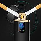 Спиральная сенсорная электрическая USB зажигалка Lighter   Зажигалка с зарядкой USB сенсорная, фото 4