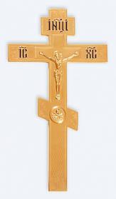 Хрест напрестольний 2-3 золоч.