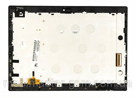 Дисплейный модуль Lenovo IdeaPad MiiX 320 (Ver1) черный, фото 2