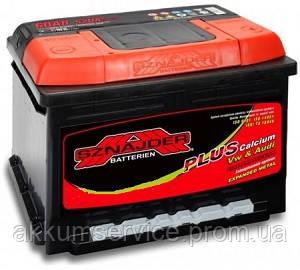 Аккумулятор автомобильный Sznajder Plus +Ca 50AH R+ 480А (55080)