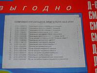 Ремкомплект двигателя ВАЗ 2101-2107 (17 наим.) (Украина). 2101-1003020