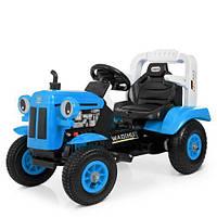 Детский электромобиль Трактор M 4261ABLR(2)-4 синий