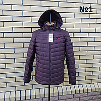 Демисезонные мужские куртки  с капюшоном модные размеры 48-54