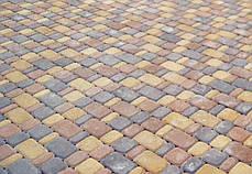 Тротуарная плитка «Старый город» 60/90/120/180х120 высота 40мм колор-микс, фото 2