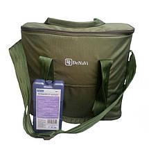Термосумка Denavi Денави, сумка-холодильник 18 литров с аккумулятором холода