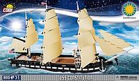 Конструктор Cobi армейский корабль USS Constitution