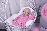 Демисезонный комплект одежды для новорожденных девочек Mini, 6-ти предметный, фото 4
