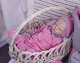Демисезонный комплект одежды для новорожденных девочек Mini, 6-ти предметный, фото 5