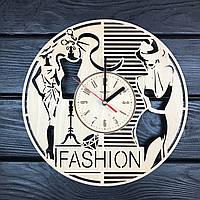 Интерьерные деревянные часы на стену «Мода и стиль», фото 1