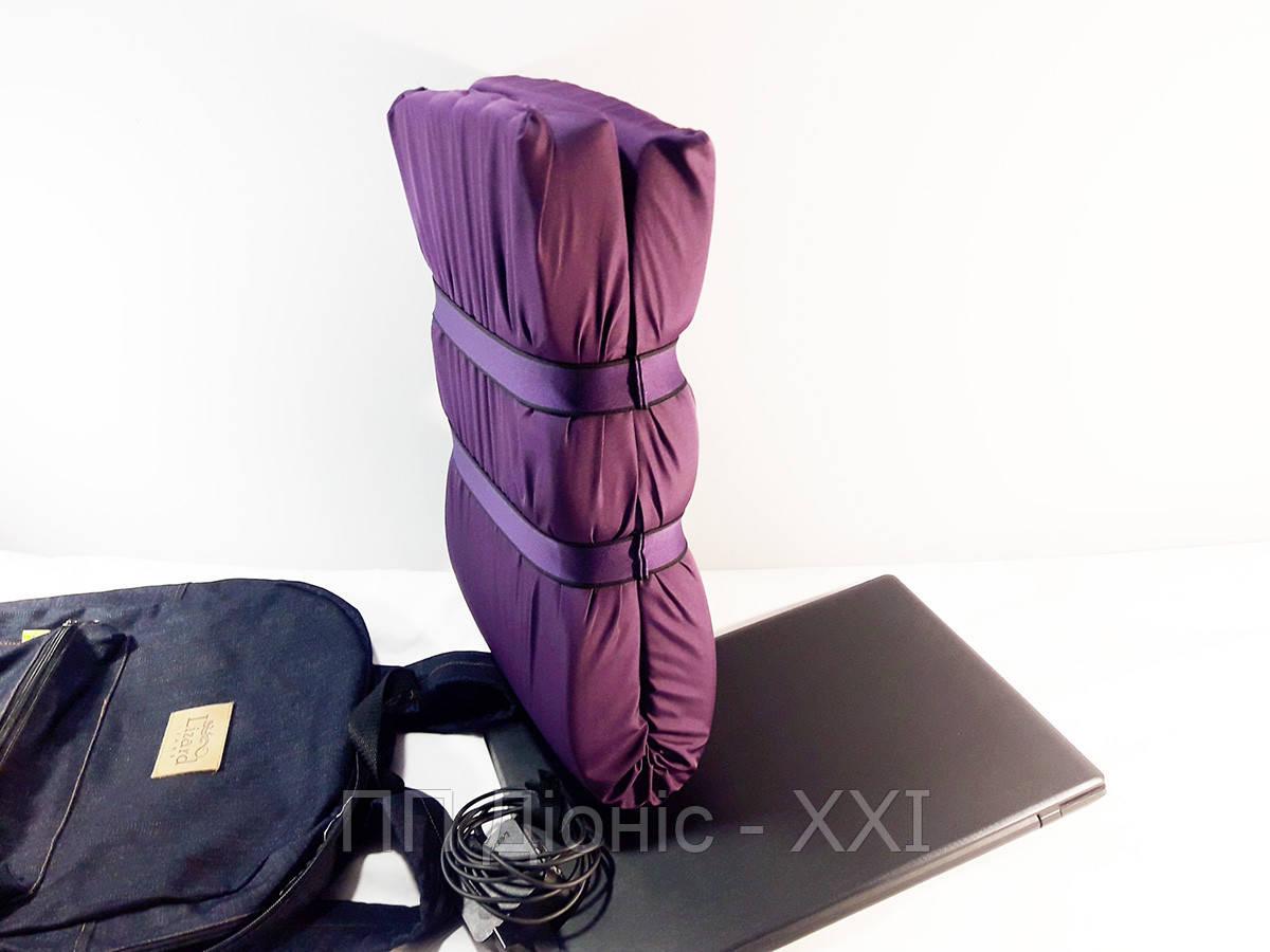 Защитный чехол для ноутбука, фиолетовый. Защищает от ударов и падений.