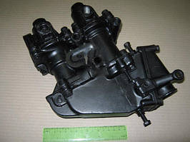 Кран торм. 2-секц ЗИЛ 130, Т-150 (с выключ. тормож. лягушкой). 151.64.027