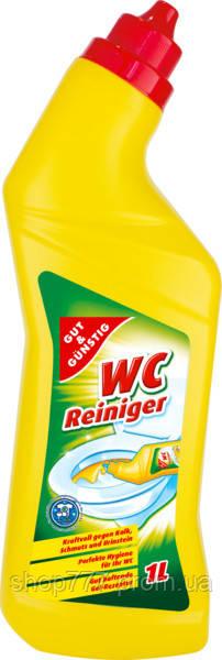 Gut&Gunstig WC-Reiniger гель для очистки унитаз Лимон 1л