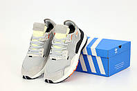 Чоловічі кросівки Adidas Nite Jogger Grey (Адідас Найт Джоггеры сірі), фото 1