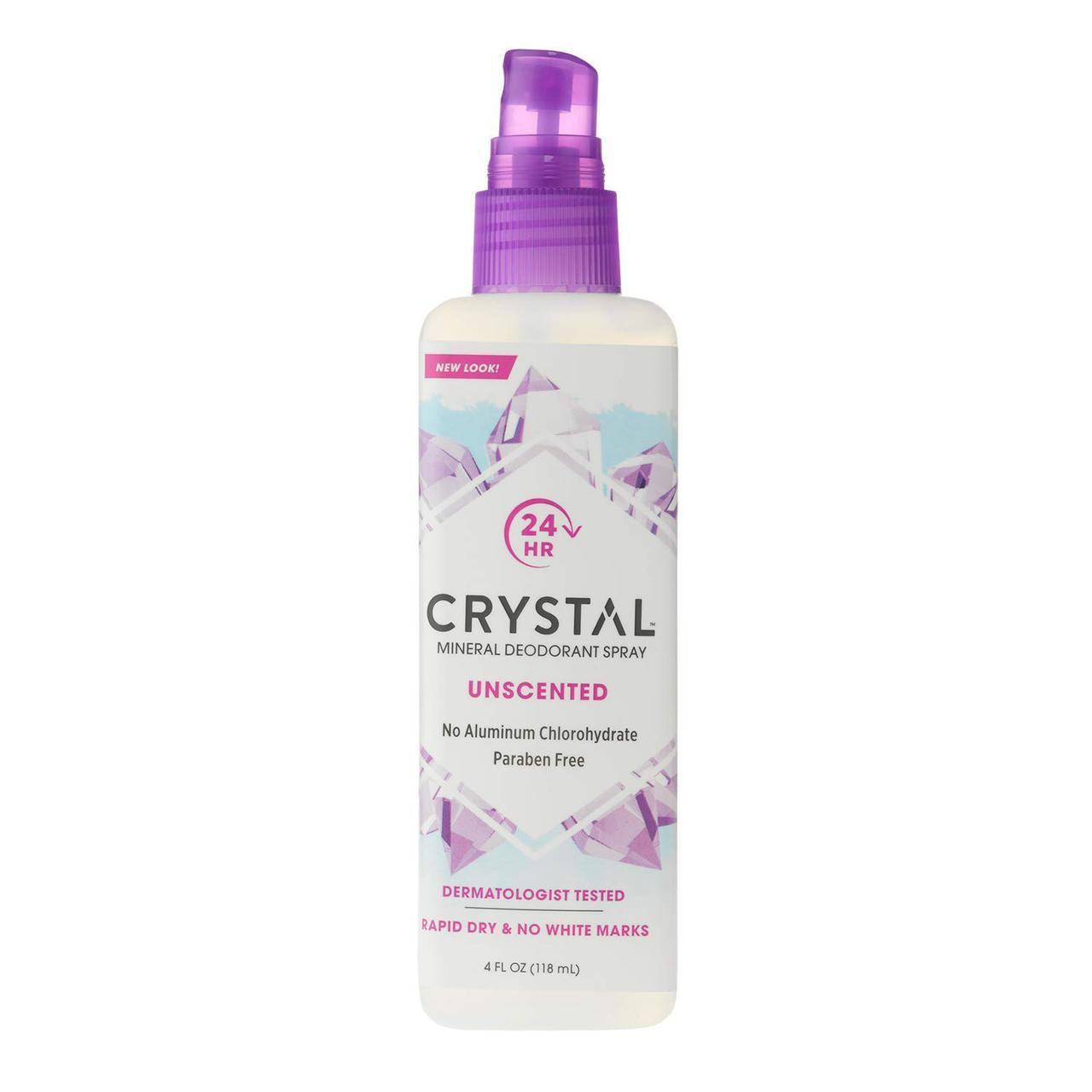 Дезодорант-спрей Без запаху Crystal 118 мл