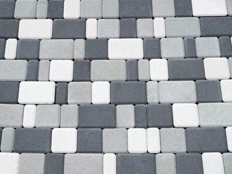 Тротуарная плитка «Старый город» 60/90/120/180х120 высота 60мм серая