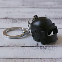 Брелок Бки 2013 Объемный шлем Pubg (черный)