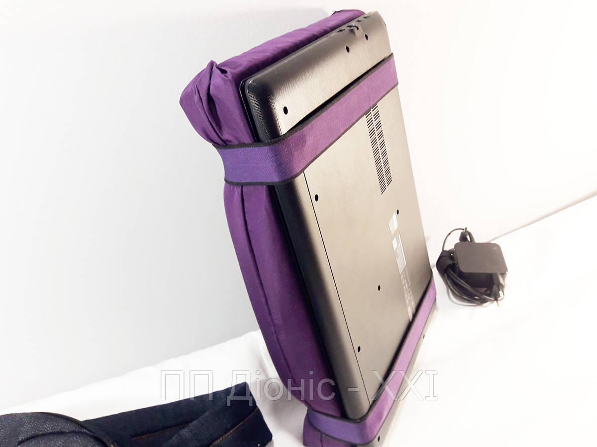 Накладка на экран. Анти защитный чехол для ноутбука. Защищает от ударов.