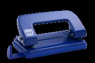 Дырокол металлический, до 10 л., 124х63х35 мм, синий, фото 2