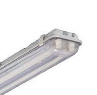 Светильник светодиодный пылевлагозащищенный 07U под LED- лампы Т8, (2*1200мм) без панели Тип В