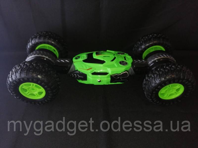 Переворачивающая машинка Dance Monster  (Зеленый)