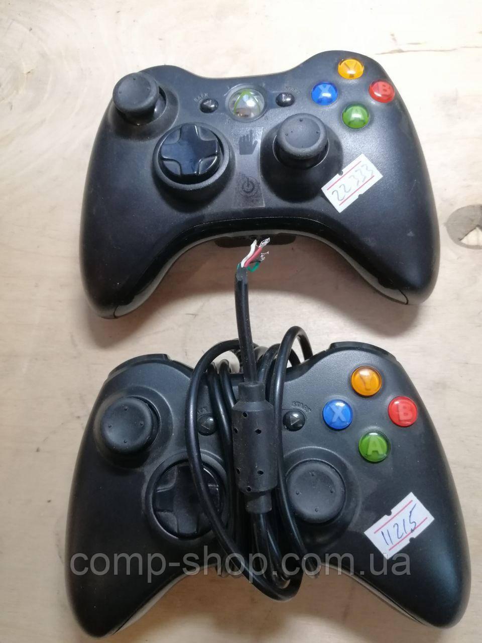 Джойстик Xbox 360, 2 шт, не рабочие