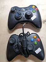Джойстик Xbox 360, 2 шт, не рабочие, фото 1
