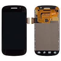 Дисплейный модуль (дисплей + сенсор) для Samsung Google Nexus S i9023, черный, оригинал