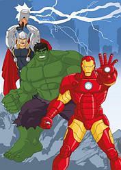 """Килимв дитячу кімнату """"Avengers Power"""" - (Польща) TM """"Krystynka"""""""