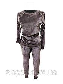 Велюровый женский спортивный костюм Giuseppe Zanotti